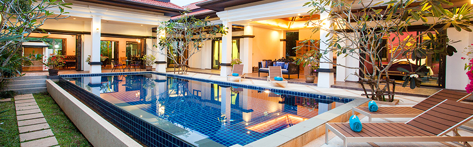 Perfect home extension with pool